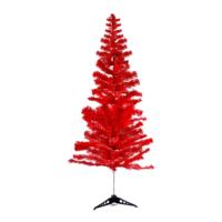 KullanAtMarket Kırmızı Yılbaşı Çam Ağacı 180 Cm 350 Dal