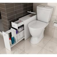 Bestline Smart Fonksiyonel Çekmeceli Banyo Dolabı (Beyaz)