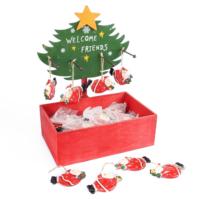 Kikajoy Seramik Noel Baba Şekilli Ağaç Süsü