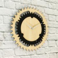 Hepsiduvar Ahşap Duvar Saati 30 cm