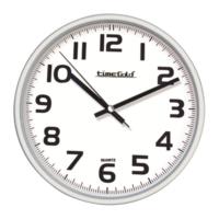 Beyaz Çerçeve Okunaklı Duvar Saati