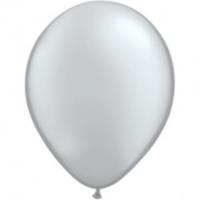 Elitparti Metalik Gümüş Balon (5 Adet)