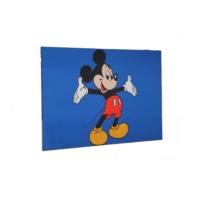 avrasya poster Mickey Mouse Led Işıklı Kanvas Tablo 60x90