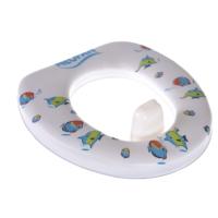 Klozet Adaptötü Çocuk Yumuşak Kaydırmazlı27x27cm Balık Desen Plastik