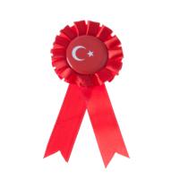 KullanAtMarket Türk Bayrağı Rozet