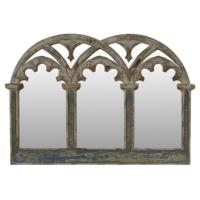 Wenge Home Masif Mango Wood Ayna 99.5x5.5x70.5 Cm