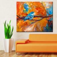 CanvasTablom Kr109 Kuş Kanvas Tablo