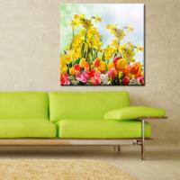 CanvasTablom Kr116 Çiçek Kanvas Tablo