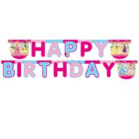 Tahtakale Toptancısı Prensesler Happy Birthday Uzar Harf Afiş Duvar Yazısı