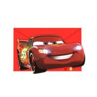 Tahtakale Toptancısı Cars Neon Parti Davetiyesi (6 Adet)