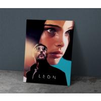 Javvuz Leon - Metal Plaka Poster