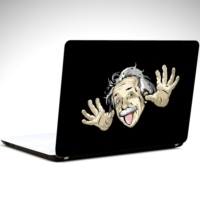 Dekolata Einstein Laptop Sticker