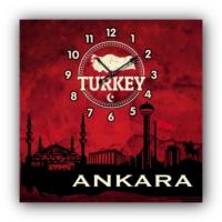 ArtredGallery Ankara Kanvas Tablo Saat