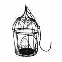 Decotown Metal Oval Mini Desenli Mumluk Kafes