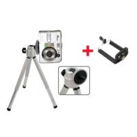 Pratik Mini Teleskopik Tripod + Telefon Başlığı Hediyeli !
