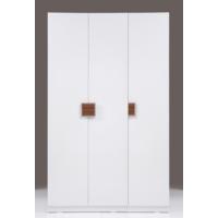 Kenyap Plus 812751 Stella Askılıklı&Raflı Üç Kapılı Sonsuz Gardırop-Parlak Beyaz