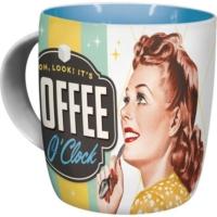 Nostalgic Art Coffee O' Clock Kupa