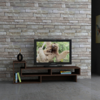 Decortie Tetra Tv Sehpası Wenge