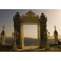 Rengo - İstanbul - Dolmabahçe Sarayı Kapısı Kanvas Tablo (0119)