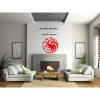 Sticker Masters Game Of Thrones Logo Duvar Sticker