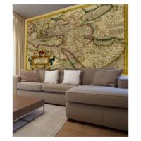 Artikel Harita 178X126 Cm Duvar Resmi