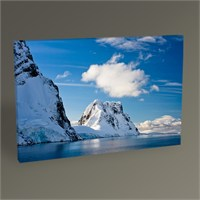 Tablo 360 Snowy Mountions And Sea Tablo 45X30