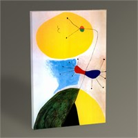 Tablo 360 Joan Miro Portrait Tablo 45X30
