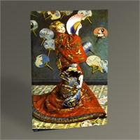 Tablo 360 Claude Monet La Japonaise Tablo 45X30