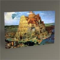 Tablo 360 Pieter Bruegel Babil Kulesi Tablo 45X30