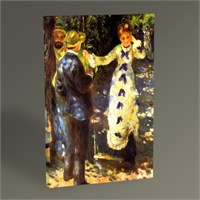 Tablo 360 Pierre Auguste Renoir The Swing Tablo 45X30