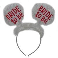Pandoli Bride To Be Partisi Tacı Beyaz Otrişli