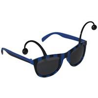 Pandoli Mavi Siyah Çizgili Antenli Parti Gözlüğü