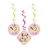 Partisepeti Baby Minnie Mouse İlk Yaşım Asma İp Süs