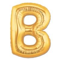 Partisepeti B Harf Gold Folyo Balon