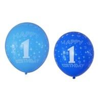 Partisepeti Happy Birthday Baskılı 1 Yaş Balon 25 Adet