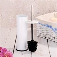 Royal Windsor Çelik Tuvalet Fırçası - Beyaz