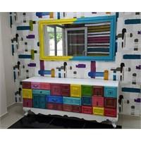 Te Home Magnet Konsol Ve Ayna Takım