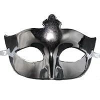 Pandoli Gümüş Renk Balo Maskesi
