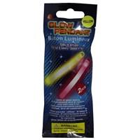 Pandoli İkili Neonlu Glow Stick Parti Çubuğu Sarı Renk