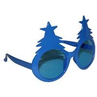 Pandoli Mavi Renk Çam Ağacı Şekilli Gözlük