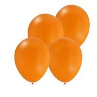 Pandoli Oranj Metalik Düz Renk 25 Adet Sedefli Latex Balon