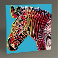 Tablo 360 Andy Warhol Zebra Tablo 30X30