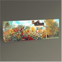 Tablo 360 Claude Monet Garden İn Argenteuil Tablo 60X20