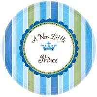 Parti Paketi Minik Prens Küçük Tabak 8'Li