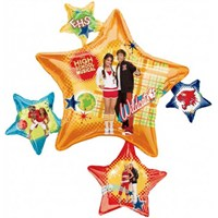 Parti Paketi High School Musical Supershape Folyo Balon
