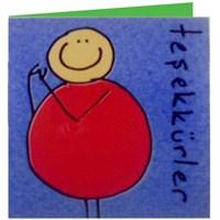 Parti Paketi Teşekkürler Kart/Zarf