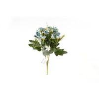 Yedifil Küçük Tomurcuk Mavi Yapay Çiçek