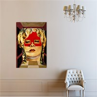 Atlantis Tablo Face of Mae West 50X75 Cm