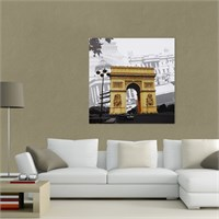 Atlantis Tablo Paris - Zafer Takı (Arc de Triomphe) 50X50 Cm