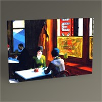 Tablo 360 Edward Hopper Chop Suey Tablo 45X30